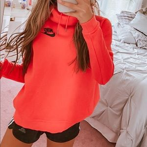 Red/orange Nike hoodie